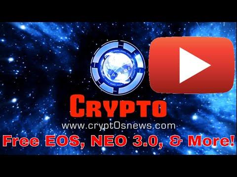 Daily Cryptocurrency News – Bitcoin, Ethereum, NEO 3.0, EOS REX, CoinMarketCap, & More Crypto News!