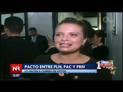 Pacto entre PLN, PAC y PRN convirtió a Carlos Ricardo Benavides en presidente del Congreso