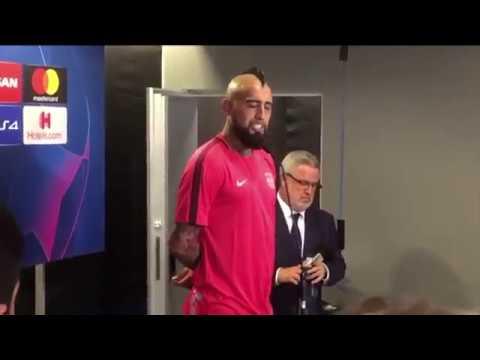 """Especial BCN Arturo Vidal: """"Jugamos un gran partido y allá será mucho más difícil"""""""