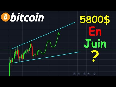 BITCOIN 5800$ EN JUIN !? btc analyse technique crypto monnaie