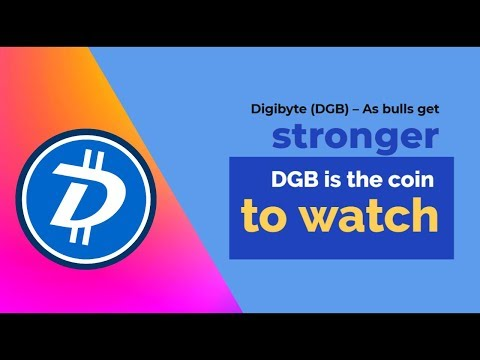 Digibyte (DGB) – As bulls get stronger, DGB is the coin to watch