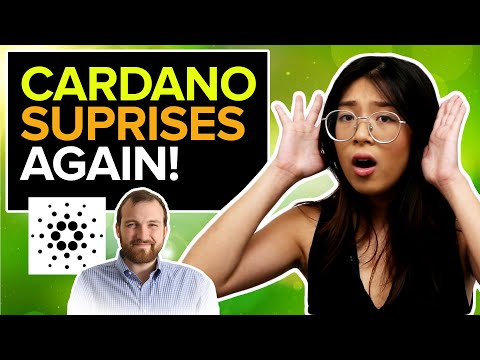 Cardano ADA founder, Charles Hoskinson, has GREAT NEWS for YOU!