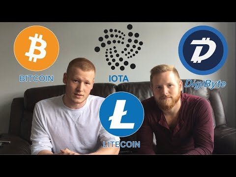 Litecoin Nasdaq! Digibyte Digi ID On IOS! Grey Scale Bitcoin! IOTA The Next FOMO? #Podcast 50