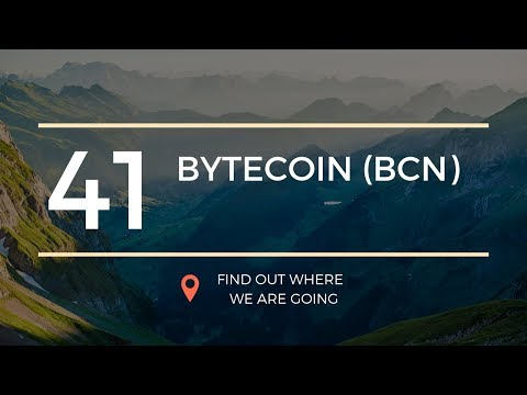 $0.0009 Bytecoin BCN Price Prediction (2 May 2019)