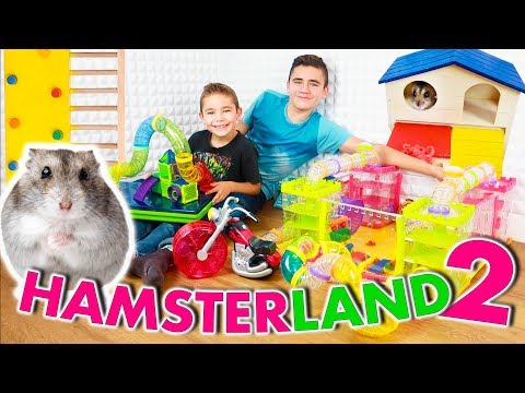 ON CONSTRUIT HAMSTERLAND 2 ! – PARC D'ATTRACTION POUR HAMSTER 🎡 🐹