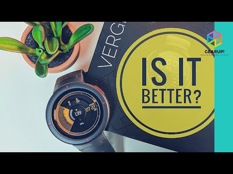Amazfit Verge Review – Trumps the Stratos (and the Rest)?