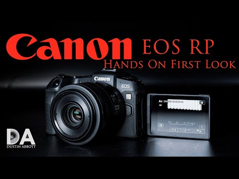 Canon EOS RP Hands On Overview | 4K