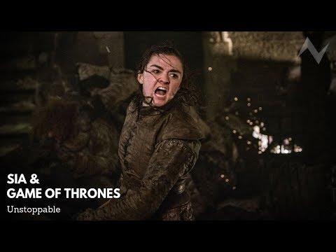 Sia & Game Of Thrones – Unstoppable (Arya Kills Night King – Death Scene)