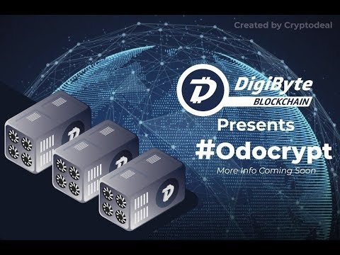DigiByte – OdoCrypt Going Live Soon! – V-ID Interview – and so Much More