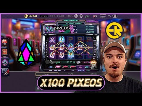 EOSREEL (EOS) – New Pixeos Slots! – Earn Dividends & Passive Income