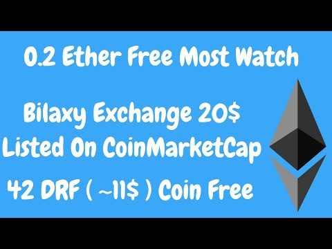 Bilaxy Exchange 50 Coin Free Listed On CoinMarketCap | 42 ( 10.5$ ) DRF Tokens | BestEarningTips