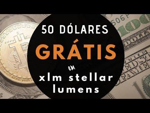 GRÁTIS!!! GANHE 50 DÓLARES EM XLM STELLAR LUMENS AGORA!!!