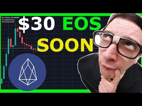 EOS Coin to reach $30 next bull run ! EOS REX passive income will bring mass adoption