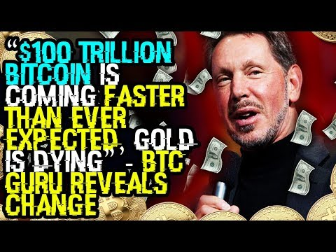 """""""$100 TRILLION BITCOIN Is COMING FASTER THAN EVER EXPECTED, Gold IS DYING"""" – BTC GURU REVEALS CHANGE"""