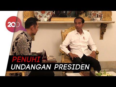 AHY Temui Jokowi: Tak Harus Bicara Politik, Ada Hal Besar Lain