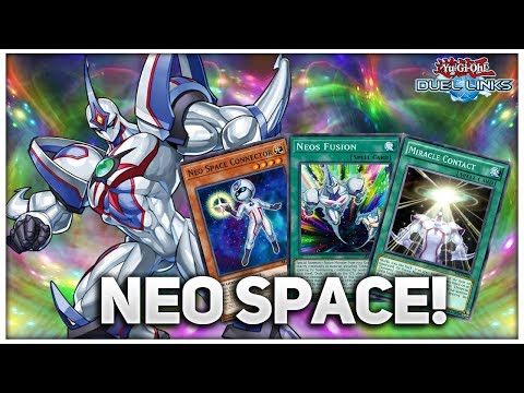 NEO SPACE! Jaden Yuki's New Skill! | Neo Spacian Deck [ Yu-Gi-Oh! Duel Links ]