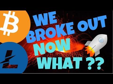 BITCOIN and LITECOIN BREAKOUT!! litecoin bitcoin price analysis, btc ltc news,