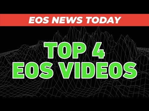 EOS VIDEOS: Auto-Claiming Dividends, Developer Courses, pixEOS Explainer, and more!