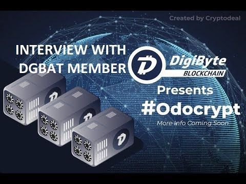 DigiByte – DigiAssets and OdoCrypt – Interview With Matthew Cornelisse