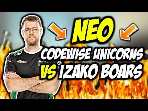 NEO W SKŁADZIE CODEWISE UNICORNS VS IZAKO BOARS!!! NEEX AWP BEAST, CRITY ON FIRE – CSGO BEST MOMENTS