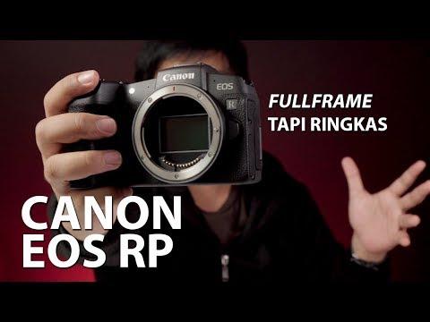 Nyicipin Mirrorless Fullframe – CANON EOS RP INDONESIA