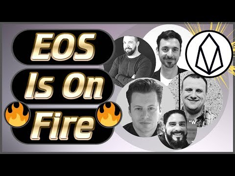 EOS News Weekly #19 – Core EOS Updates 1.8v – New Project Launches – EOS Events – Airdrops & More