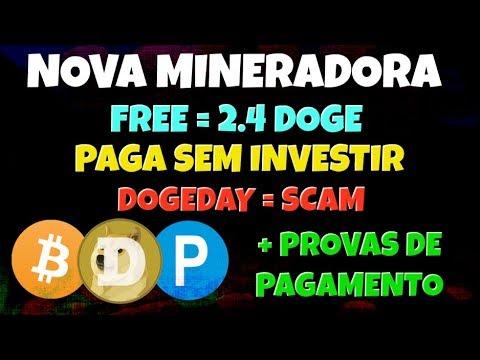 [SCAM] Mineradora DOGE | Paga Sem Investir | Wox Dogecoin | + Provas de Pagamento | DogeDay scam