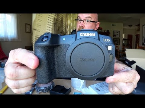 My New Canon EOS RP Mirrorless Full Frame Sensor Camera
