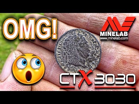 OMG! CTX 3030 Finds Bull Head Coin – Metal Detecting
