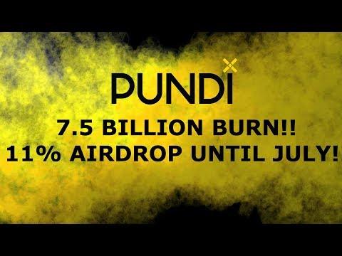 PUNDIX NPXS 7 BILLION COIN BURN COMING! 11INTEREST TIL JULY! WHEN $1??!?