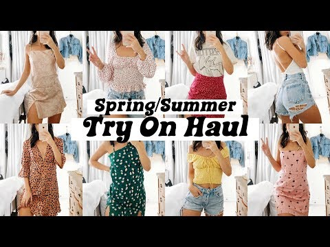 TRY ON SUMMER CLOTHING HAUL 2019 | VERGE GIRL