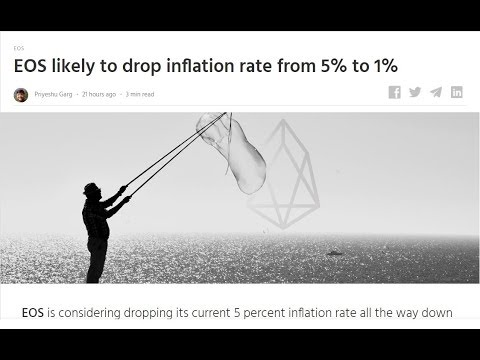 EOS To Drop Inflation Rate From 5% to 1%