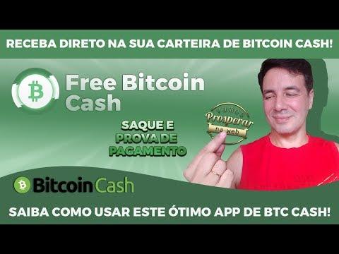 FREE BITCOIN CASH – GANHE MUITOS SATOSHIS DE BTC CASH  │  PROVA DE PAGAMENTO │SEM CONVIDAR!