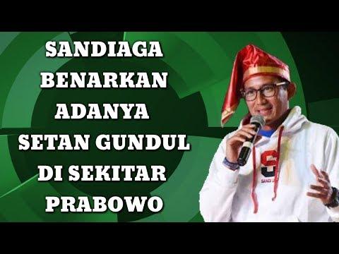 Sandi Klaim Setan Gundul Ada Saat Deklarasi, Nih 3 Orang Kandidatnya