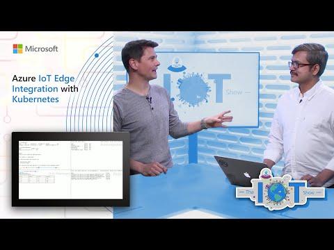 Deploying Azure IoT Edge workloads on Kubernetes