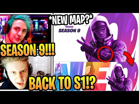 "Streamers Reacts to *LAST* SEASON 9 ""NEW MAP"" TEASER!!! (FUTURISTIC THEME) ""NEO"""