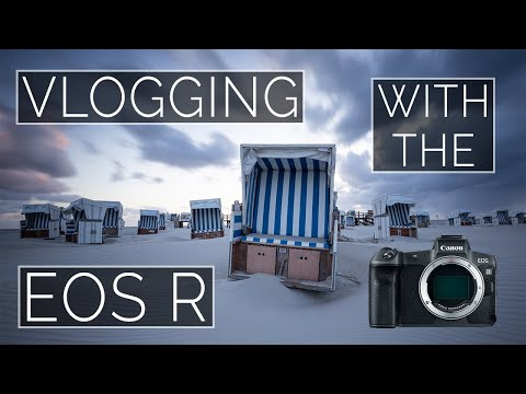 Vlogging with the EOS R. HOT DAMN!!