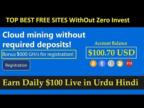 New Free Bitcoin Cloud Mining Sites 2019 | 5000 GHS | Live Payment Proof by new invention
