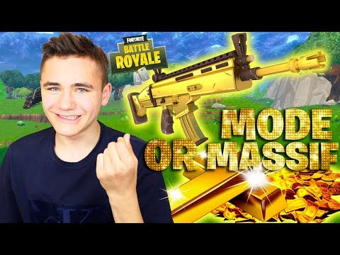 MON STUFF 100% OR ! – MODE OR MASSIF – FORTNITE BATTLE ROYALE – Néo The One