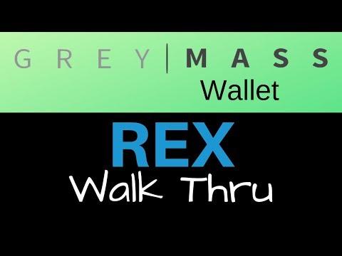 Greymass Wallet EOS REX Tutorial