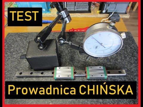 TEST Prowadnice i wózki CNC – Szyny prawie jak Hiwin ale z Banggood