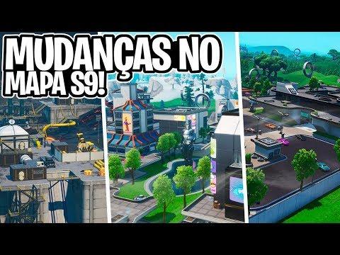 GRANDES MUDANÇAS NO MAPA SEASON 9! TORRES NEO, USINA URBANA, DRONES E SHOPPING! – Fortnite