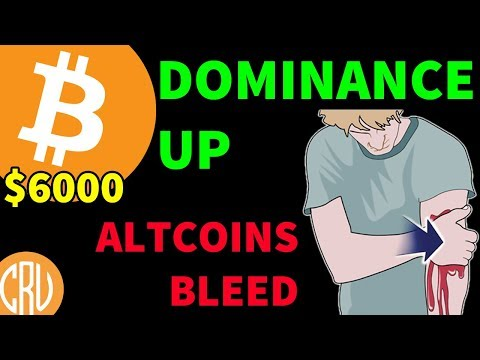 Bitcoin Dominance UP – Altcoins Bleed Out | Bitcoin and Cryptocurrency News