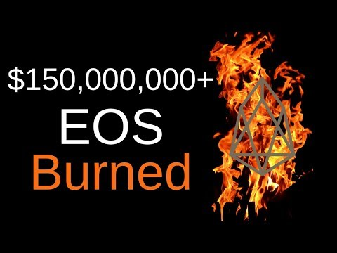 $150,000,000+ of EOS Burned!