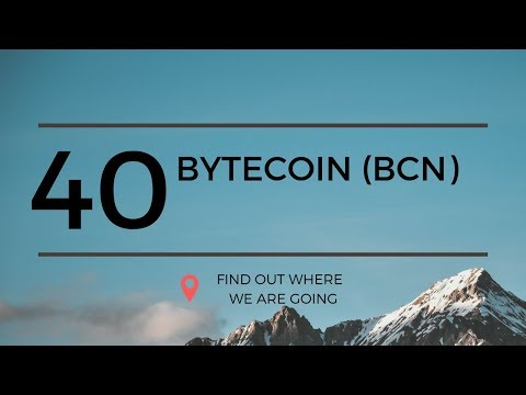 $0.0009 Bytecoin BCN Technical Analysis (9 May 2019)