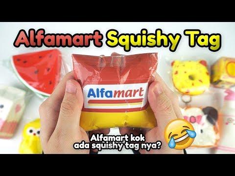 ALFAMART SQUISHY TAG | Alfamart masa ada squishy tagnya?! Wkwk | Credit: Heri Merry Squishy