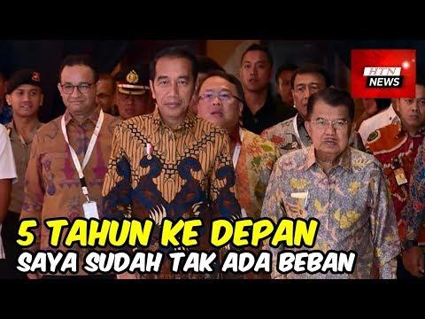 Jokowi: Lima Tahun ke Depan Saya Sudah Tak Ada Beban