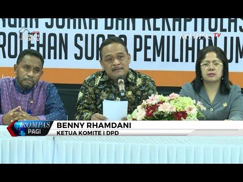 DPD: Tak Ada Kecurangan dalam Sistem Situng KPU