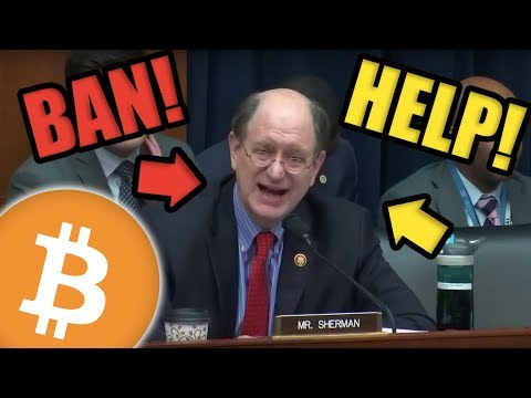 HELP! The USA Is Attempting To Ban Bitcoin! Bitcoin Price Nears $6400!! BULLISH NEWS!