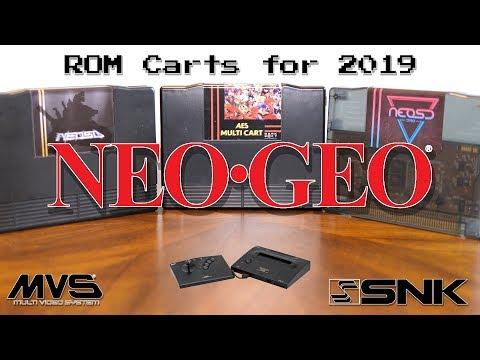 Neo Geo ROM Cart Comparison